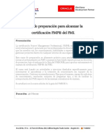 Contenido Curso Preparación PMP®