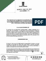 Decreto Minicipal 2502 de 2019