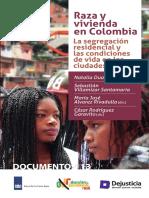 raza y viviend EN COLOmbiA SEGREGACIO SOCIORESIDENCIAL