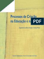 Processos de Criação na Educação e nas Artes