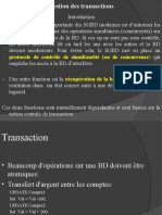 Gestion Transactions