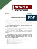 Ensayo sobre Fondo de comercio.docx