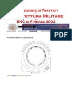 Esposizione Di Trattati Di Architettura Militare Alla BNCF 2002