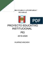 PEI-2018-IE PPA-HUARAZ