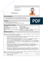 Antonio Choya - Curriculum 04-02-10 Es Con Foto