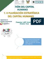 2. PLANEACIÓN ESTRATEGICA DEL CAPITAL HUMANO
