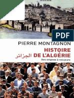 Histoire de l'Algerie. Des orig - Pierre Montagnon