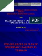 DIAPOSITVAS DE Plan de Seguridad Y SALUD EN EL TRABAJO MTPE.ppt