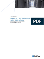 NetApp HCI With Mellanox SN2010 Switch Quick Cabling Guide