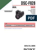 Sony DSC-F828 Service Manual