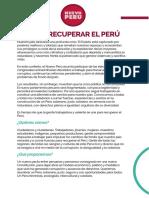 Únete al Nuevo Perú