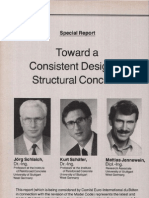 Toward a Consistent Design of Structural Concrete