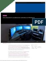Cómo desactivar las actualizaciones automáticas en Windows 10.pdf