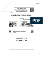 1.0 Clase 01 - Albañileria