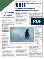 Boletin Mensual Dr. Jose Manuel Guasque