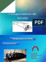 Transportadores Tornillo