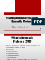 Treatment With Families Who Have Been Exposed to DV