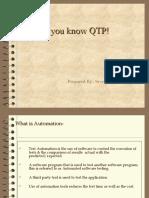 Qtp Fundamentals