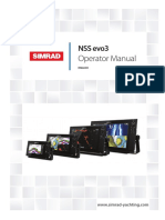 INSTALLATION AND INSTRUCTION MANUAL FOR SIMRAD NSS EVO3