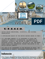 WORLD HERITAGE AROUND THE WORLD.pptx