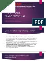 PSICOLOGÍA TRANSPERSONAL 1