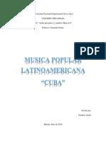 Musica Latinoamericana-Cuba