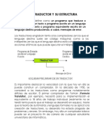 1.4. TRADUCTOR Y SU ESTRUCTURA, 1.5 FASES DE UN COMPILADOR