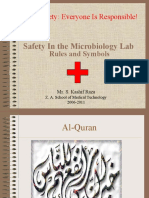 Microbiology Laboratory Safety Rules