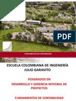 FUNDAMENTOS DE CONTABILIDAD GERENCIA DE PROYECTOS NCD ENERO 2020