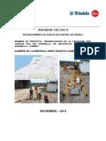 INFORME DE PROCESAMIENTO DE PUNTOS GEODESICOS-MATAPALOS-2019