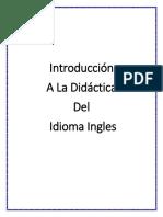 ANTOLOGIA ALA DIDACTICA  DEL IDIOMA DEL INGLES