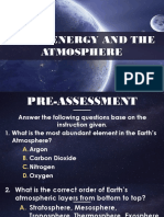 Solar energy and the atmosphere