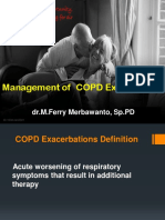 15. Management of COPD Exacerbation. dr. M. Ferry Merbawanto, Sp.PD