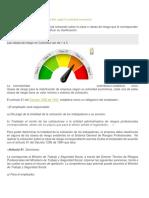 Clases de riesgo para cotización en la ARL según la actividad económica