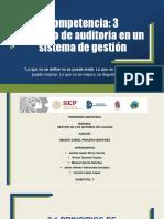 Proceso de auditoria en un sistema de Gestión de la calidad