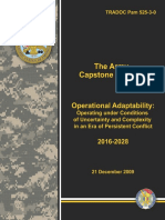 TRADOC PAM 525-3-0 (DEC09) The Army Capstone Concept