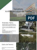 Caso 01-Sanatorio Antituberculosode Paimio