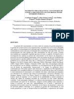 GESTIÓN DEL CONOCIMIENTO ORGANIZACIONAL CON ENFOQUE DE DIRECCIÓN  ESTRATEGICA ORGANIZATIVA