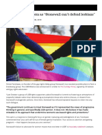LGB Alliance to Form as _Stonewall can't defend lesbians_