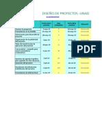 Plantilla Diagrama de Gantt PUNTO 1