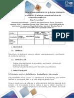 PREINFORME PRÁCTICA 4-5-6 DE LABORATORIO DE QUÍMICA ORGÁNICA