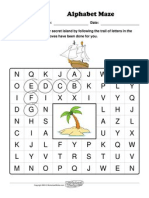 Worksheet Works Alphabet Maze 18