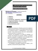 Curso de  I + D+ I y SOBRE MEJORES PRACTICAS EN PROYECTOS DE INVESTIGACIÓN E INNOVACIÓN