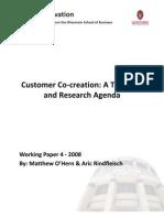 Customer Co-Creation