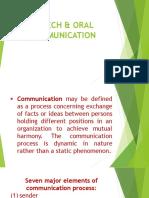 PROCESS OF COMMUNICATION 1