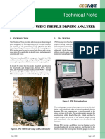 Technical Note TN 044  Pile Capacity Using Pile Driving Analyser