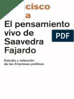 El pensamiento vivo de Saavedra LIBRO DIGITAL
