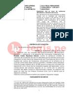 Absolución penal no impide establecer responsabilidad y fijación de reparación civil - Casación 1690-2017, Amazonas.pdf