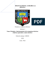 Principio y funcionamiento de las maquinas eléctricas rotativas