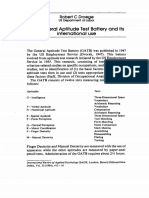 Applied Psychology Volume 33 issue 3 1984 Robert C Droege -- The General Aptitude Test Battery and its international use